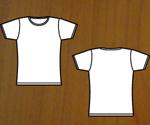 Girl's t-shirt template