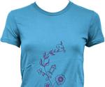 Women T-shirt template psd